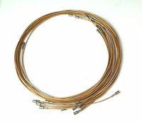 Lot of 11 Pasternack RF 4' PE3915-48 SMB Plug to SMB Plug RG316 Coax Cable