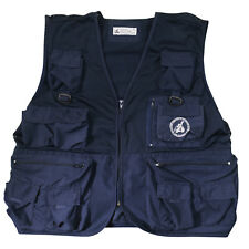 Charles Darwin Galapagos Research Vest Blue
