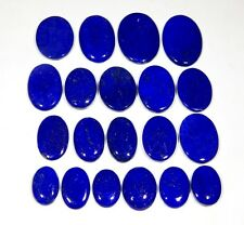 250CT WHOLESALE LOT NATURAL LAPIS LAZULI PENDANT SIZE OVAL CABOCHON GEMSTONE AAA