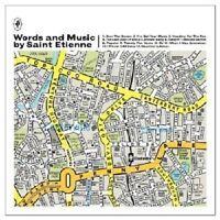 SAINT ETIENNE - WORDS AND MUSIC BY SAINT ETIENNE  CD NEU++++++++++