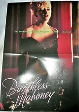 MADONNA POSTER DICK TRACY 1990 PIN-UP Walt Disney Breathless Herb Ritts Promo 90