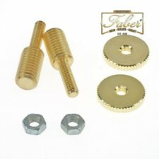 Faber BSW-KIT-GG, BSWKITGG, Bridge Adapter, (1 Paar) 4mm/8mm, Gold Gloss Finish