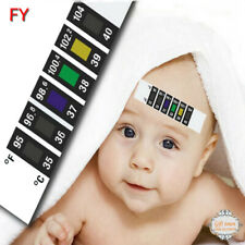 10pc Forehead Strip Fever Cold Thermometer Feverscan Temperature Check