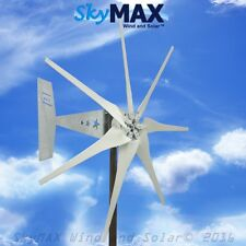 Rebel Freedom Gray 7 blade 24 volt 1200 watt 1700 max wind turbine generator