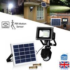 Solar Powered 20 LED PIR Motion Sensor Security Flood Light Spot light Wall lamp