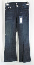 Rock Republic Bailey Jeans Denim Girls Size 10, 24 Flare Low Rise Sample 2009