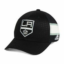 low priced 84212 b200e Los Angeles Kings Adidas Authentic NHL Pro Collection Draft Flex Cap Hat  Mens LA