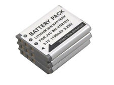 new 3 piece Battery BN-VG212U for JVC GZ-VX815 VX715 VX775 VX770 VX755 VX715BEK