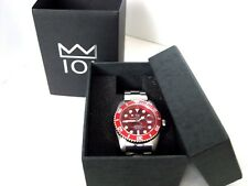 HYAKUICHI 101 Red Watch 200m Divers SUBMARINE Bezel MEN'S F/S Japan tracking New