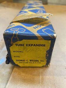 "THOMAS WILSON TUBE EXPANDER 41-D-29 7/8  O.D.X 18-19 GA 1"" O.D.X 12 Ga"