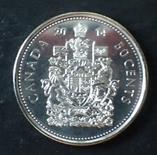 Canada 50 cents coins 2014 UNC Half Dollar Canadian From mint rolls