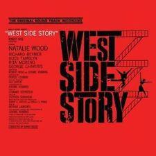 CD WEST SIDE STORY ORIGINAL FILM SOUNDTRACK TONIGHT GEE OFFICER KRUPKE COOL ETC