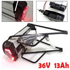 E-Bike Akku 48V 36V 15/13Ah Fahrrad Accu Li-ion Batterie Pedelec mit Ladegerät