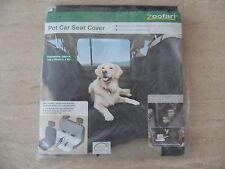 Asiento De Coche Protector De Mascotas cubierta por Zoofari a estrenar en paquete de 150 X 145 Cm