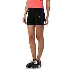Adidas Response Women's Tight Running Shorts Black/Purple Size UK L DH077 OO 11