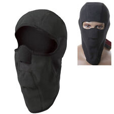 Motorcycle Thermal Fleece Balaclava Neck Winter Ski Full Face Mask Cap Cover