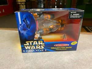 1996 Star Wars Micro Machines SEBULBA'S POD RACER Set NIB