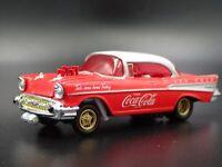 1957 57 CHEVY CHEVROLET BEL AIR GASSER COCA-COLA 1:64 SCALE DIECAST MODEL CAR