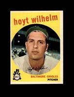 1959 Topps Baseball #349 Hoyt Wilhelm (Orioles) NM