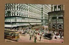 "Chicago,IL Illinois State and Madison, ""Busiest streets in the world"" used 1913"