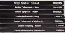 London Symphony Orchestra, 7 CD Set Timeless Classic Mozart Bach Handle Greig