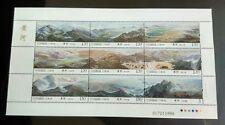 China 2015-19 Yellow River Stamps Sheetlet 黃河小型张