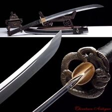 Demon Blade Cursed Sword Naginata Manganese Steel Blade Sharp Battle Ready #1834