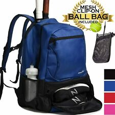 Athletico Premier Tennis Backpack - Tennis Bag Holds 2 Rackets in Padded Comp...