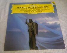 Mozart Grosse Messe C-Moll LP Von Karajan Berliner Philharmoniker Deutsche Gramm