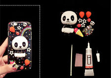 3D deco den kit resin panda star diy cellphone phone case pearls flatback