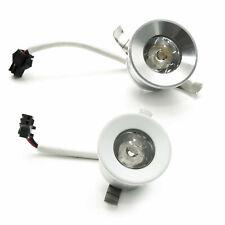 Faretto mini LED spot incasso luce scale segnapassi 1W 220V IP20 foro 25 30mm