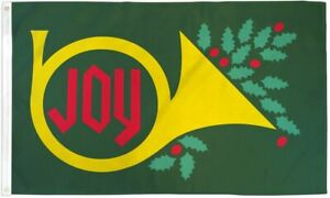 3x5 Christmas Joy Flag Holiday Decoration Banner Party Pennant New Outdoor Decor