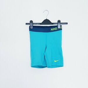 BNWOT Blue Nike Pro Fitted Gym Running Shorts Size XS fitness workout run yoga