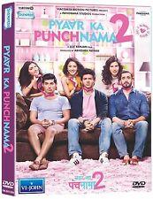PYAAR KA PUNCHNAMA 2 (2015) KARTIK AARYAN, NUSRAT BHARUCHA - BOLLYWOOD MOVIE DVD
