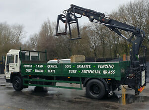 Volvo FL6 Hiab Crane Lorry Truck (not DAF Scania MANN Mercedes) £7500 + VAT