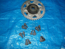 2001 yanaha r1      rear sprocket hub and cush drive rubbers
