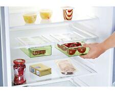 Kühlschrank Zusatz Schublade Klemm-Schublade Gemüsefach Zusatzfach klar grün