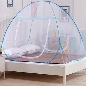 Double Bed King Size Mosquito Net Foldable Premium Net with 2 Separate Door