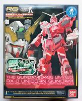 "BANDAI RG 1/144 Unicorn Gundam ""Lightning model"" The Gundam Base limited kit"