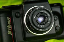 Russian Industar-50-2 50mm 3.5 Pancake Camera Lens - M42 Mount free shipping И07