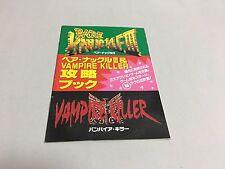 Mega Drive Fan Bare Knuckle III / Vampire Killer Koryaku Book Japan CASTLEVANIA