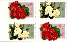 NORVEGE Grand prix roses,booklet.self adhesif inused #2 each 1353a  E153
