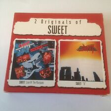 "Sweet - Live At The Marquee / ""A"" - CD X 2 (2001) Hard Rock"