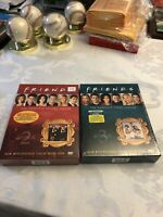 Friends Complete 2nd & 3rd Season (DVD, Factory Sealed 4-Disc Set Ea 8 DVD Total