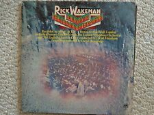 Journey To The Centre of the Earth by Rick Wakeman Lp Album Svas-95801