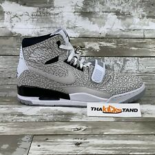 Jordan Legacy 312 Flip White Black Cement Grey Retro III 3 IV 4 Bred 11 XI Sz 12