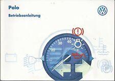 deutsche Betriebsanleitung VW Polo  Ausgabe 1997