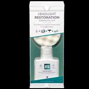 Autoglym Headlight Restoration Complete Kit - For a Professional Finish HRSKIT