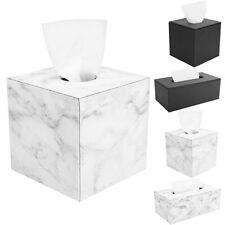 Luxspire PU Leather Roll / Square Tissue Holder Paper Facial Tissue Box Cover