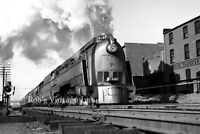 C&O Chesapeake & Ohio Passenger Steam Locomotive 493 Railroad train photo  2